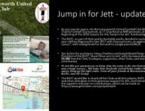 Jump in for Jett – update