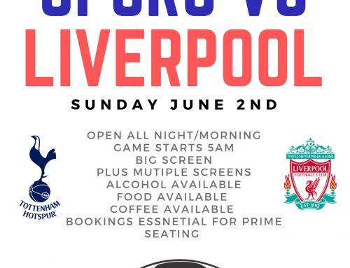 Champions League Final at the Spotswood Hotel