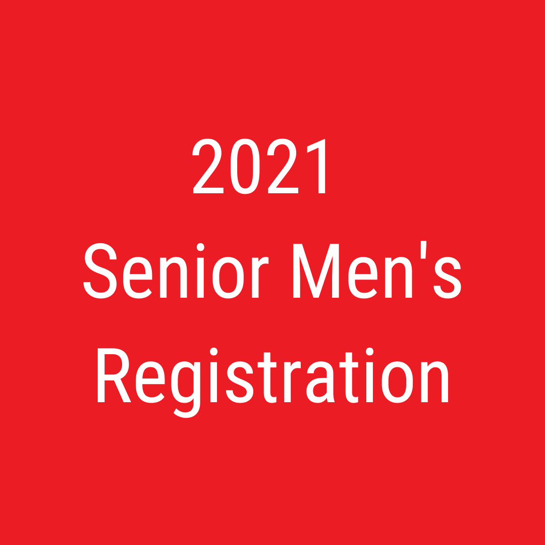 2021 Senior men's registration