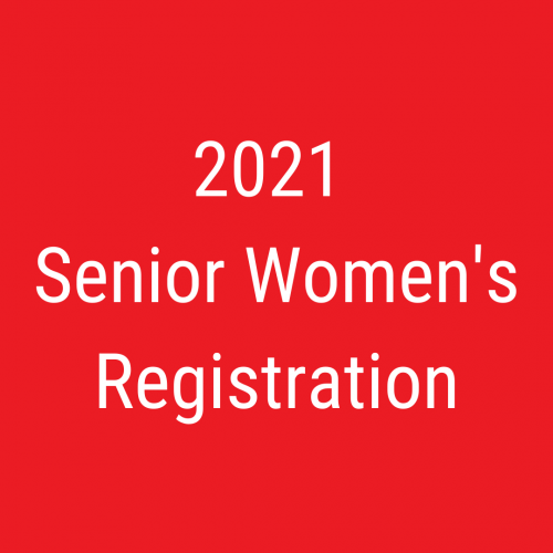 2021 Senior Women's Registration