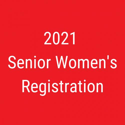 2021 Senior Women's Registration