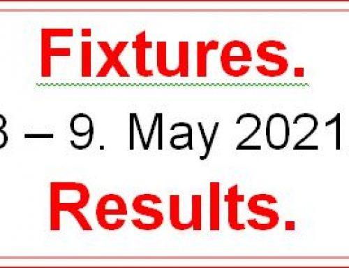 Fixtures 8  –  9  May 2021  Copy
