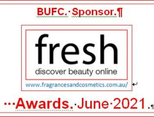 BUFC Sponsor 'fresh' Awards.21